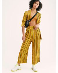Free People - Lucy Stripe Suit - Lyst