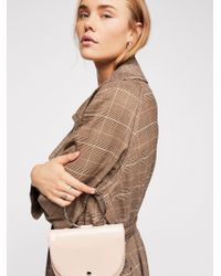 Free People - Pace Patent Clutch - Lyst