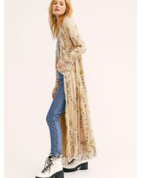 Free People - Enchanted Forest Duster - Lyst
