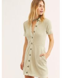Free People - New Afternoon Mini Dress By Fp Beach - Lyst