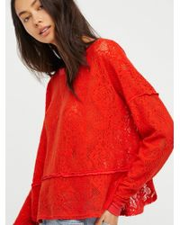 Free People - Not Cold In This Top - Lyst