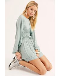 Free People - Sweet Lady Shiny Co-ord - Lyst