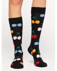 Free People - Cherry Socks By Happy Socks - Lyst