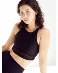 Free People - Crop Top High Rise Track Legging - Lyst