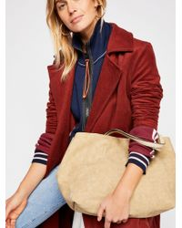 Free People - Reversible Linen Tote - Lyst