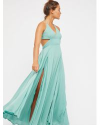 Free People - Lille Maxi Dress - Lyst