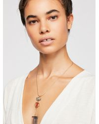 Free People - Fez Resin Pendant - Lyst