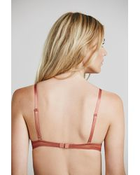 Lyst - Free People Lace Triangle Bra By Intimately in Black 023023f79