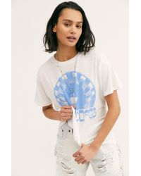 dfa236bf5 Free People We The Free Gotham Tee in White - Lyst