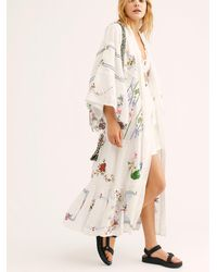 Free People - Dream In Colour Kimono By Fillyboo - Lyst
