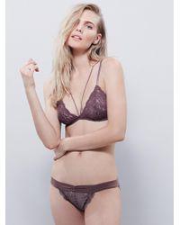 Free People - Essential Lace Bikini - Lyst
