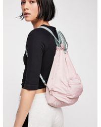 Free People - Evolve Drawstring Backpack - Lyst