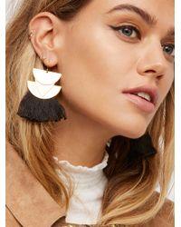Free People - Diamond Canyon Tassel Earrings - Lyst
