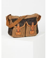 Free People - Accessories Bags Backpacks & Messengers Tapa Distressed Messenger - Lyst