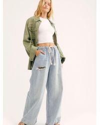 Free People - Oneteaspoon Bad Boys High-waist Wide-leg Jeans - Lyst