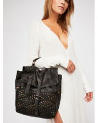 Free People - San Vito Distressed Backpack - Lyst