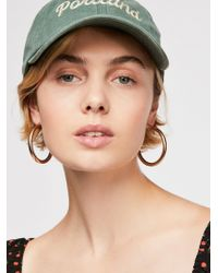 Free People - Locals Only Washed Baseball Hat - Lyst