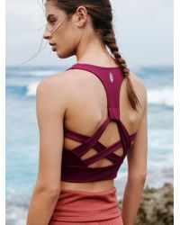 Free People - Lightning Synergy Crop By Fp Movement - Lyst