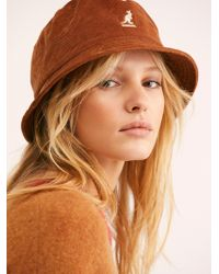 Free People - Kangol Cord Bucket Hat - Lyst