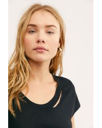Free People - Cara Destroyed Tee By Zadig & Voltaire - Lyst