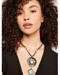Free People - Farrah Pendant Necklace - Lyst