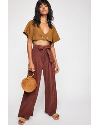 Free People - Dwell On Dreams Trouser - Lyst