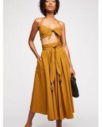 Free People - Sunrise Skirt - Lyst