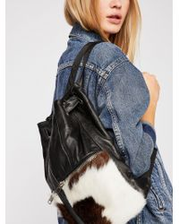 Free People - Almis Cow Leather Backpack - Lyst