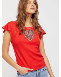 Free People - We The Free Sweetheart Top - Lyst