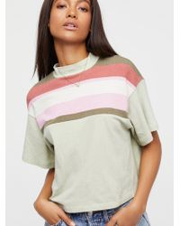 Free People | Need You Printed Tee | Lyst