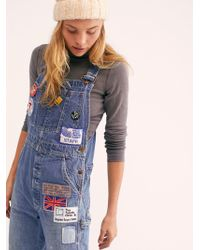 Free People - Billy Hill Overalls - Lyst