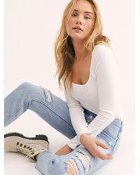 Free People - Blossom Rigid Skinny Jeans - Lyst