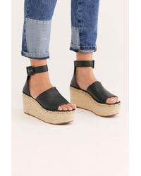 Free People - Coastal Platform Wedge Sandal By Fp Collection - Lyst