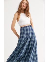 d472f68852 Free People Hearts Delight Maxi Skirt in Red - Lyst