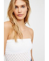 Free People - Honey Textured Tube By Intimately - Lyst