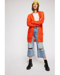 f3df4cd07118 Free People - Meant To Be Cardi Jumper - Lyst