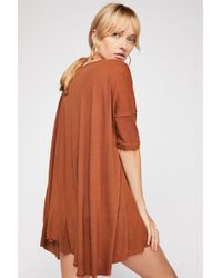 Free People - Rachie Tunic By Fp Beach - Lyst