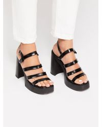 Free People - New Age Platform By Jeffrey Campbell - Lyst