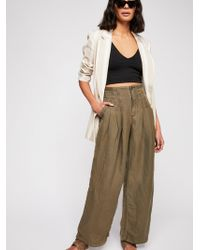 Free People - Orion Utility Trouser - Lyst