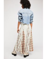 0784e955c1 Free People - Patchwork Maxi Skirt - Lyst