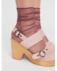Free People - Hey You Sheer Anklet - Lyst