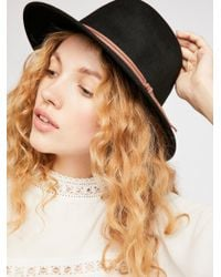 Free People - Aurora Felt Hat - Lyst