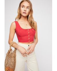 Free People - Need You Top - Lyst