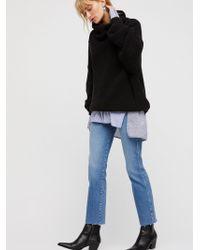 Free People - Clean Girlfriend Jeans - Lyst