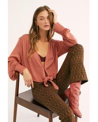 Free People - Party Crasher Long Sleeve Top - Lyst