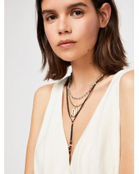Free People - Outlaw Layered Bolo Necklace - Lyst