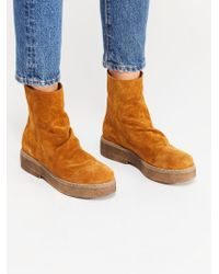Free People - Byron Flatform Boot By Fp Collection - Lyst