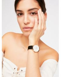 Free People - West Village Suede Watch - Lyst