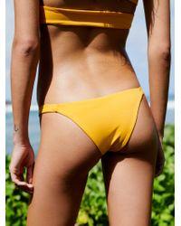 Free People - Heather Bikini Bottom - Lyst