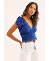Free People - Cecilia Corset Top - Lyst